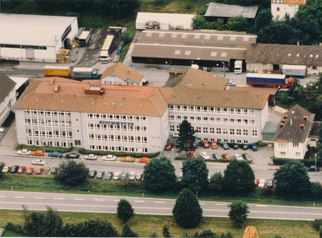 Factory building in 1990