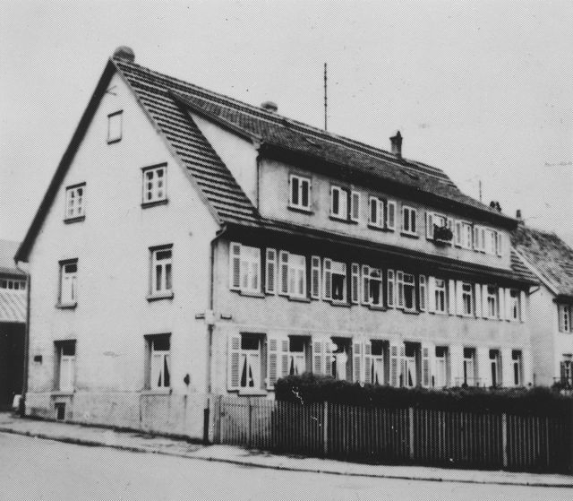 Factory building in 1920
