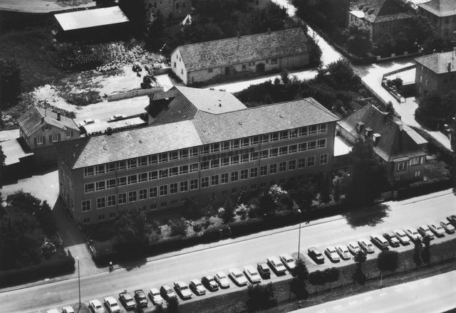 Factory building in 1970